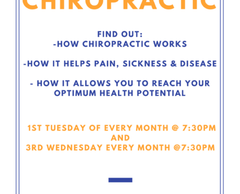 Chiropractic Health Talk and Workshop at Chiropractic Solutions Group